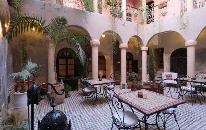 Location de vacances - Riad à Marrakech - Courtyard