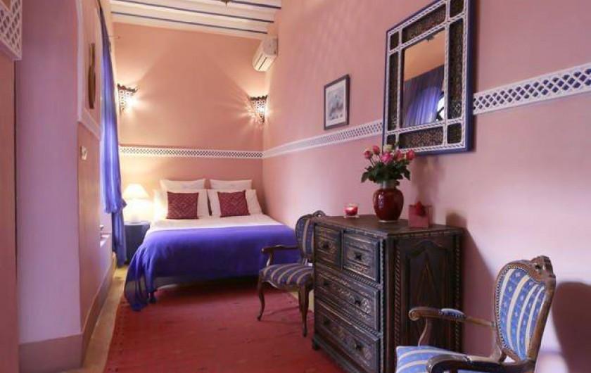 Location de vacances - Riad à Marrakech - Rose Room