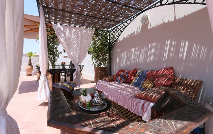 Location de vacances - Riad à Marrakech - Rooftop