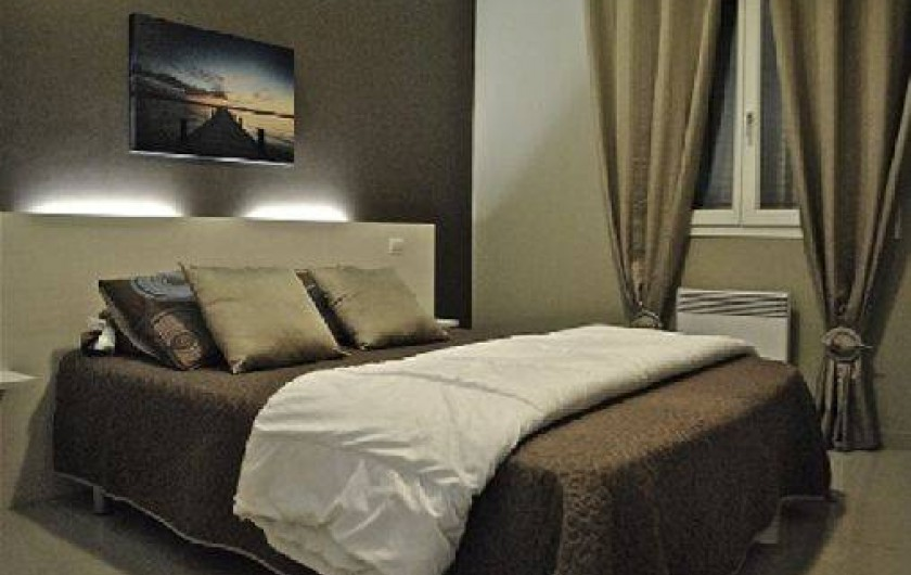 Location de vacances - Appartement à Argelès-sur-Mer - chambre parentale