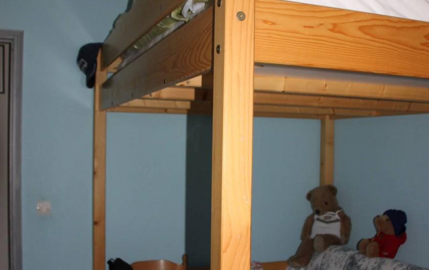 Location de vacances - Villa à Monteux - CHAMBRE 2 chambre  1 lit mezzanine 140X190 1 lit canapé convertible 140X190