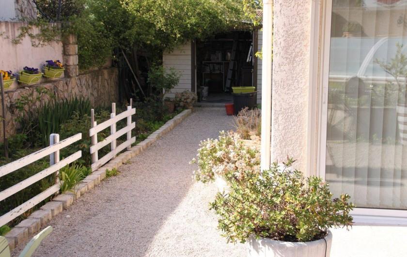 Location de vacances - Villa à Monteux - EXTERIEUR D