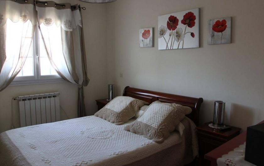 Location de vacances - Villa à Monteux - CHAMBRE 1 chambre lit 2 personnes 140X190