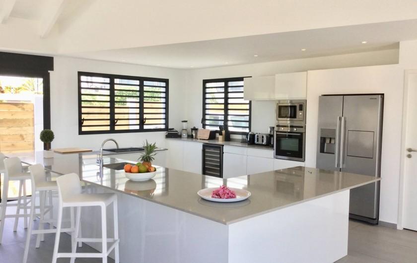 Location de vacances - Villa à Sainte-Anne - cuisine