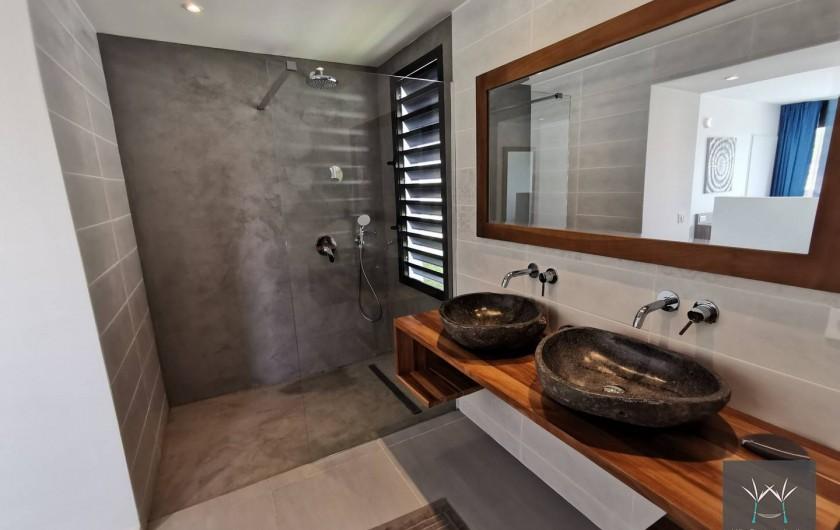 Location de vacances - Villa à Sainte-Anne - Salle d'eau suite 5
