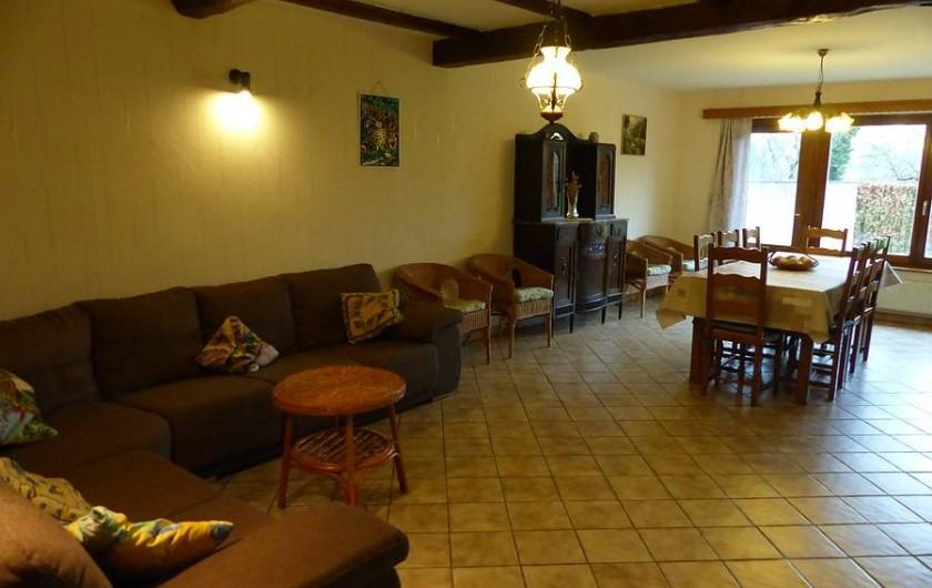 Location de vacances - Gîte à Chassepierre - Salon