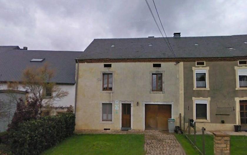 Location de vacances - Gîte à Chassepierre - Façade