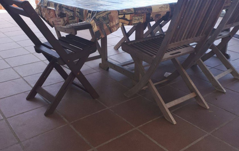 Location de vacances - Villa à Lloret de Mar - terrasse du bas