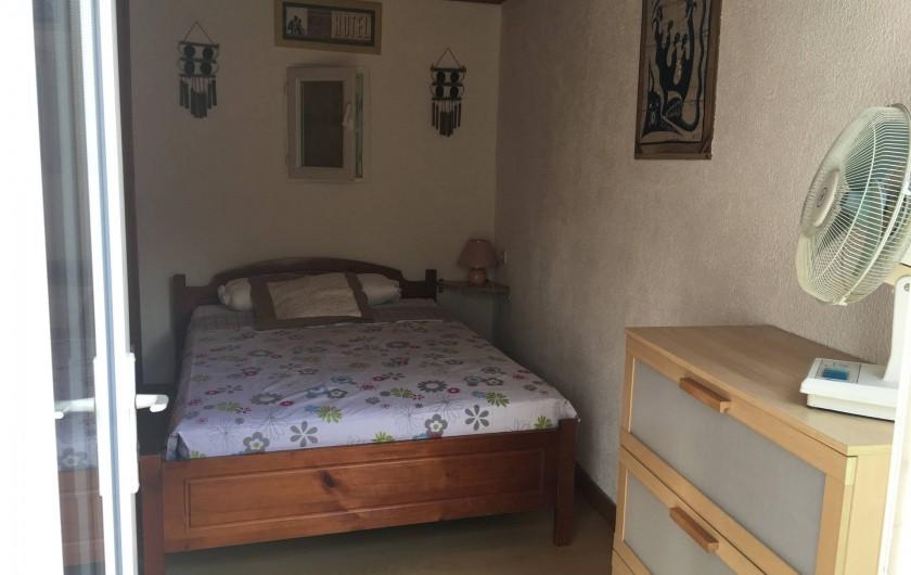 Location de vacances - Villa à Lloret de Mar - chambre extérieure en 140