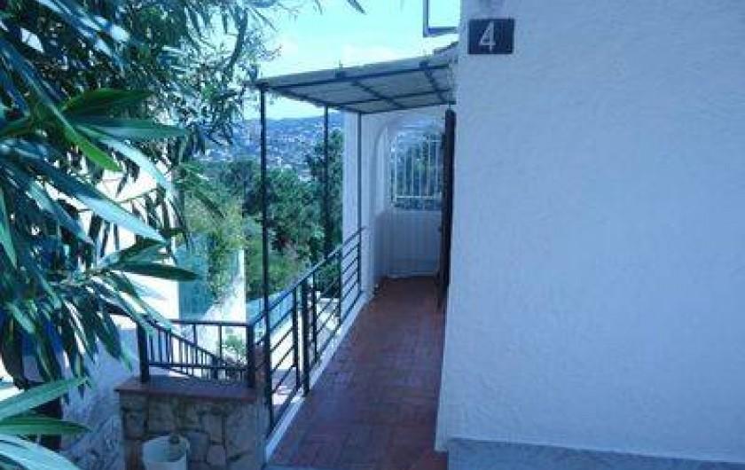 Location de vacances - Villa à Lloret de Mar - entrée villa