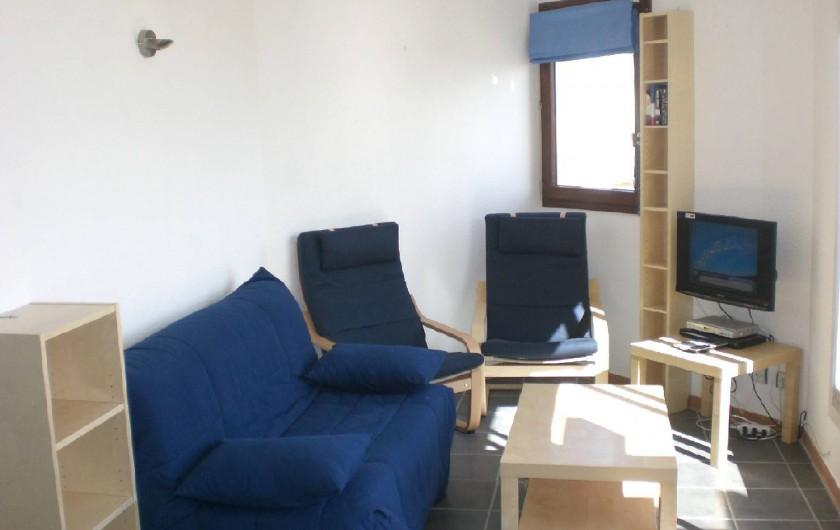 Location de vacances - Appartement à Saint-Cyprien Plage - salon