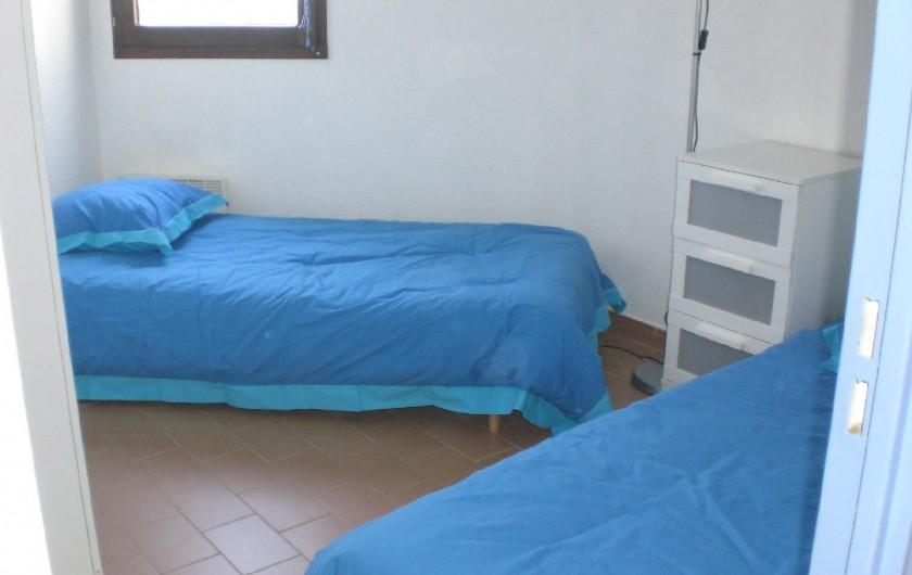 Location de vacances - Appartement à Saint-Cyprien Plage - chambre 2