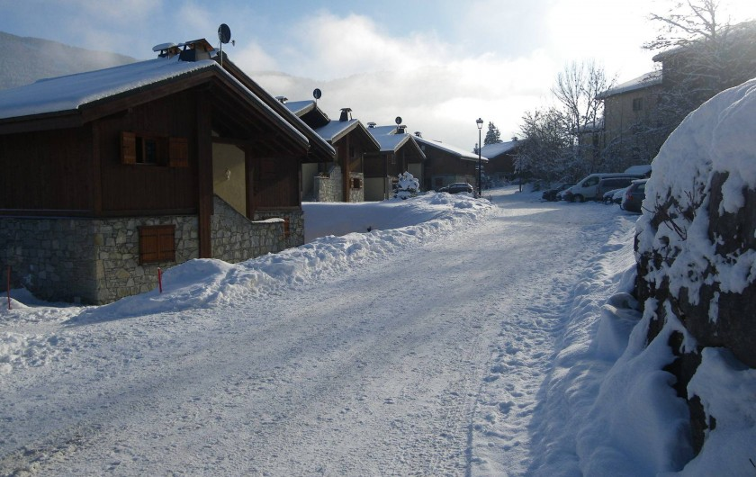 Location de vacances - Appartement à Les Carroz d'Arâches - accès
