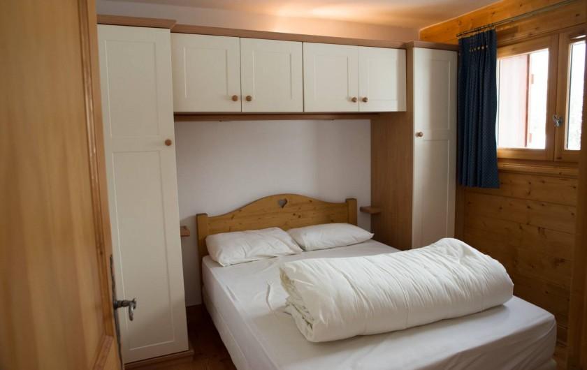 Location de vacances - Appartement à Les Carroz d'Arâches - Chambre lit double
