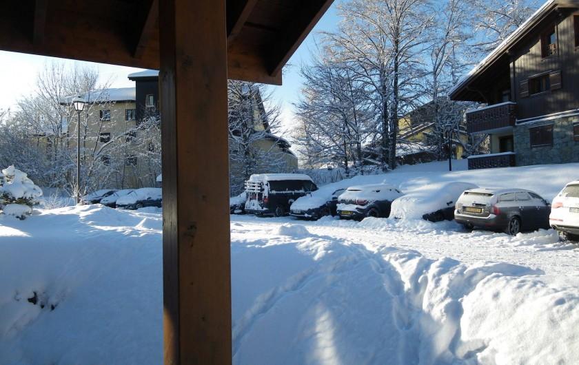 Location de vacances - Appartement à Les Carroz d'Arâches - parking supplémentaire