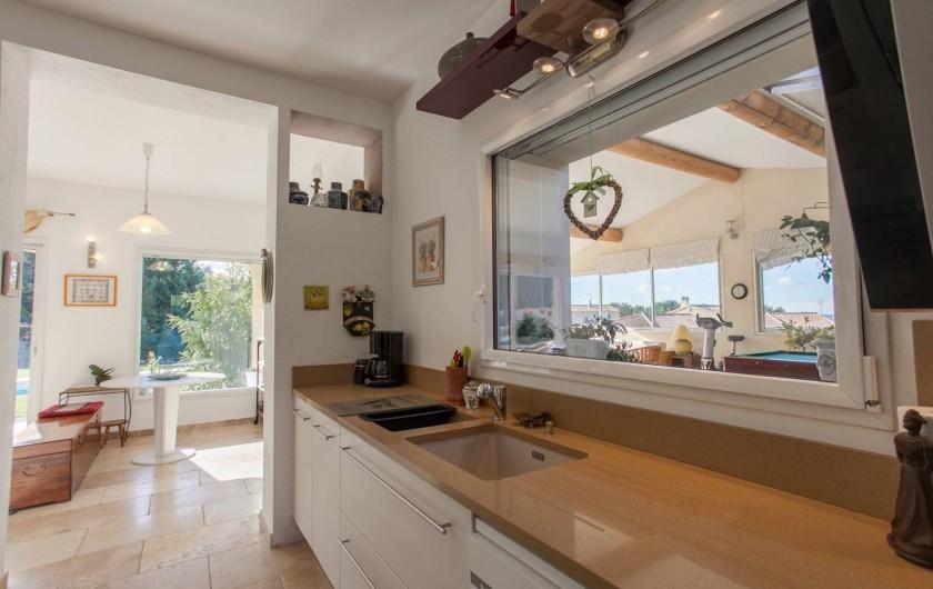 Location de vacances - Villa à L'Isle-sur-la-Sorgue - cuisine