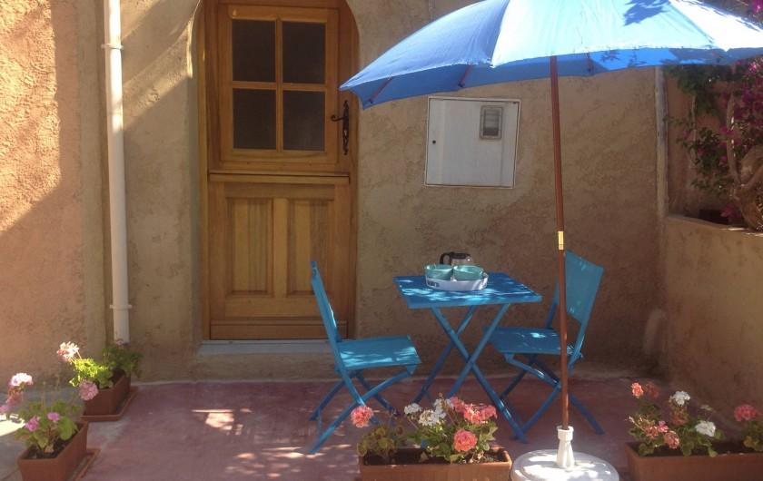 Location de vacances - Appartement à Belgodère - entrée