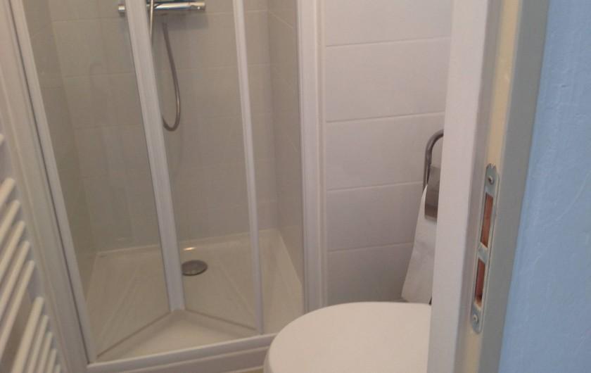 Location de vacances - Appartement à Belgodère - douche