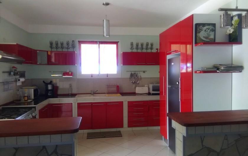 Location de vacances - Appartement à Rivière-Pilote - cuisine