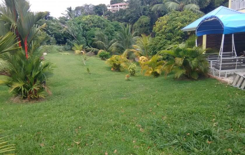 Location de vacances - Appartement à Rivière-Pilote - jardin