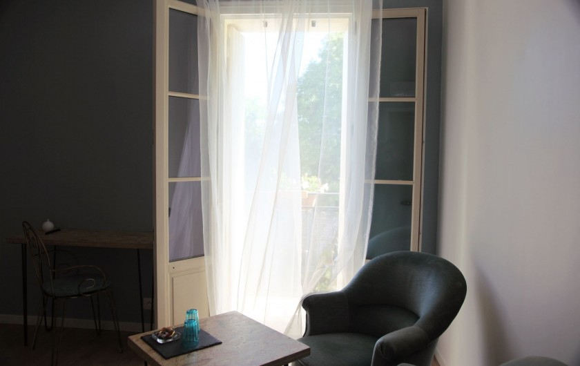 Location de vacances - Chambre d'hôtes à Cournonterral - La Vigne Bleue