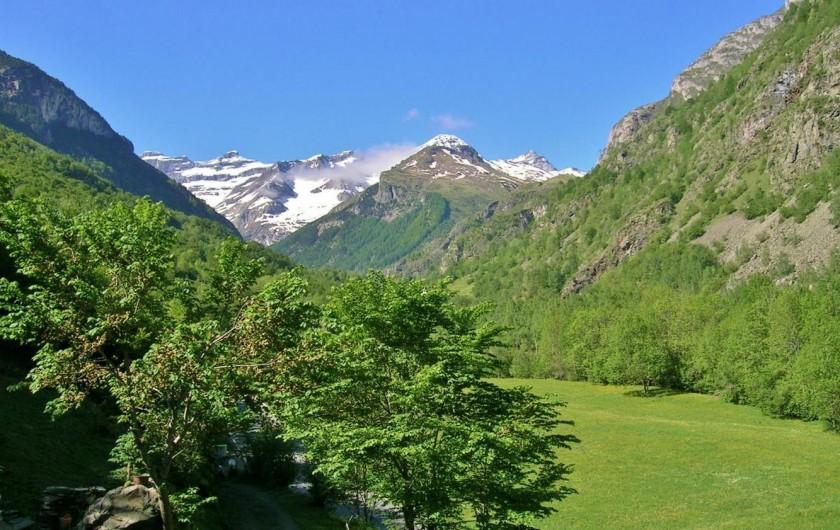 Location de vacances - Gîte à Gavarnie-Gèdre - La montagne