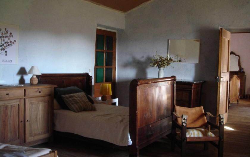 Location de vacances - Mas à Saint-Roman-de-Codières - Le dortoir