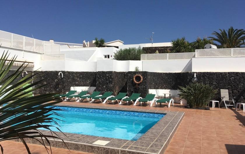 Location de vacances - Chalet à Costa Teguise - Pool