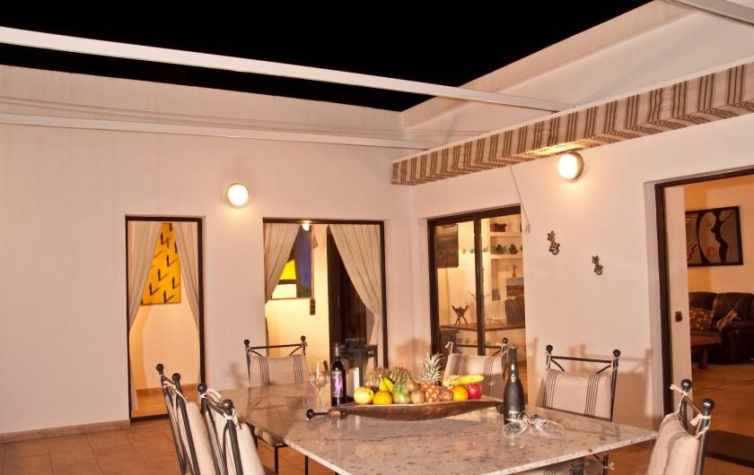 Location de vacances - Chalet à Costa Teguise - Terrasse ouverte