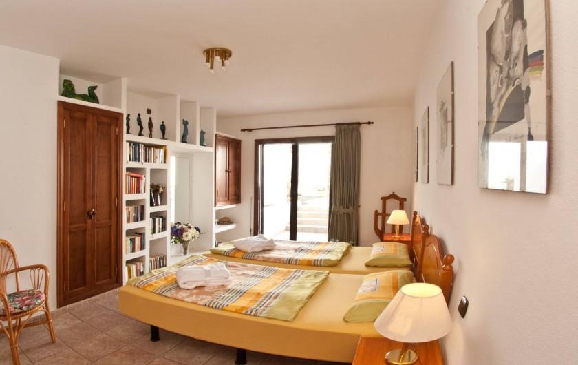 Location de vacances - Chalet à Costa Teguise - Chambre 1