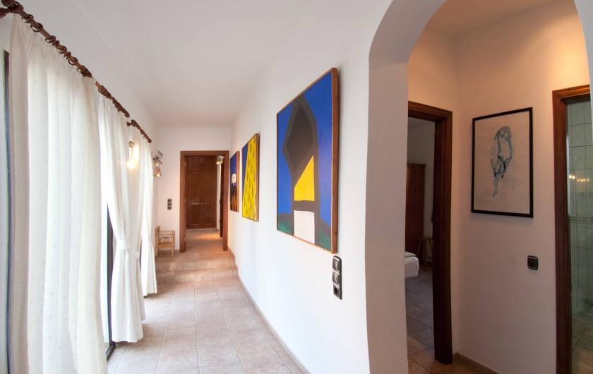 Location de vacances - Chalet à Costa Teguise - Couloir