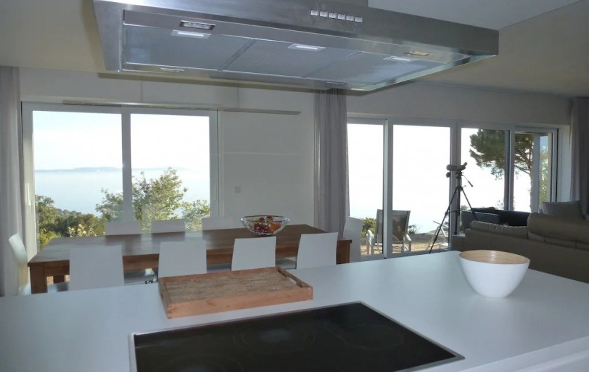 Location de vacances - Villa à Rayol-Canadel-sur-Mer - Cuisine
