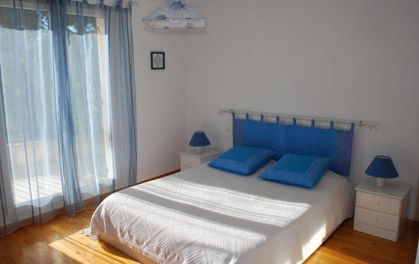 Location de vacances - Villa à La Roquette-sur-Siagne - Chambre 1