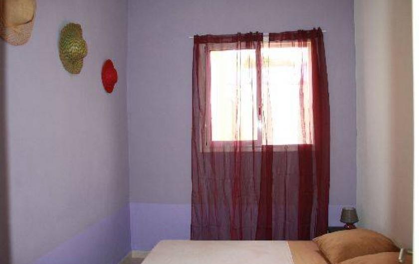 Location de vacances - Villa à Saint-Pierre - Chambre 2 (lit double)