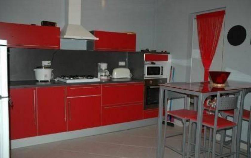 Location de vacances - Villa à Saint-Pierre - Cuisine