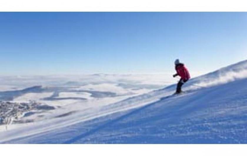 Location de vacances - Gîte à Bromont Lamothe - Pistes de ski : SUPER-BESSE à 1 h du gite
