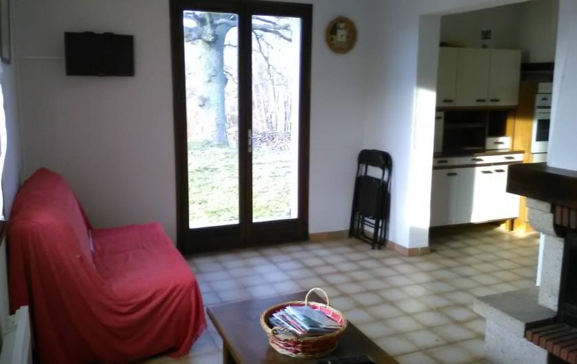 Location de vacances - Gîte à Bromont Lamothe - Le salon