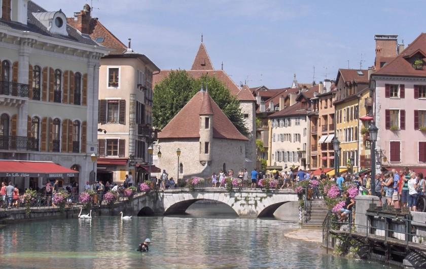 Location de vacances - Appartement à Samoëns - Annecy, la Venise des Alpes