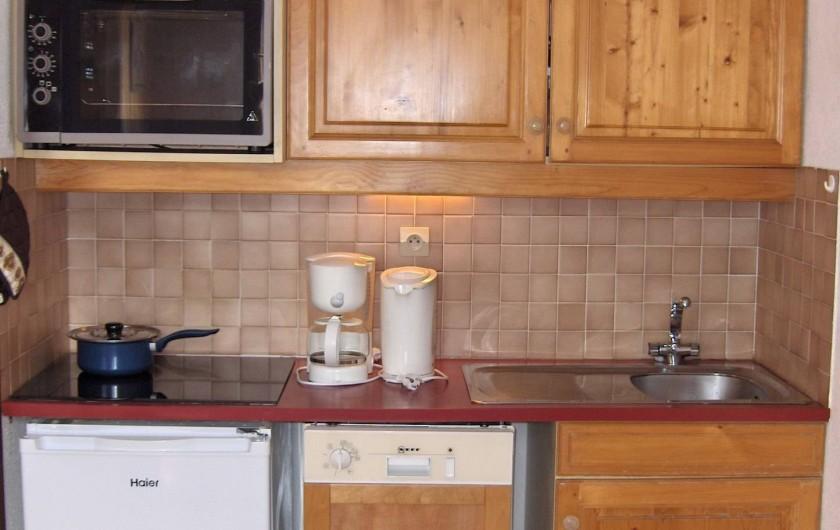 Location de vacances - Appartement à Samoëns - Coin cuisine