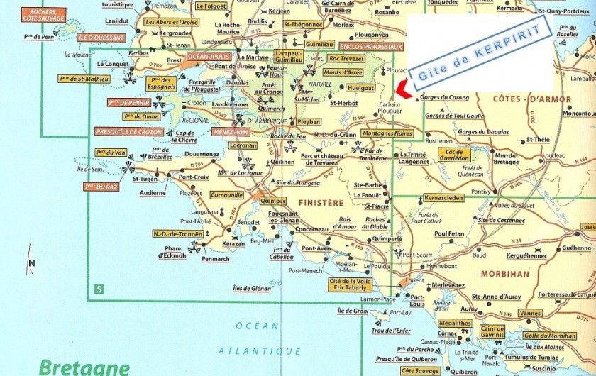 Location de vacances - Gîte à Locarn