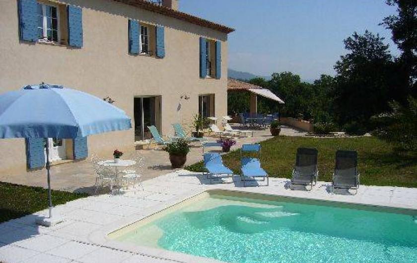 Location de vacances - Villa à Châteauneuf-Grasse