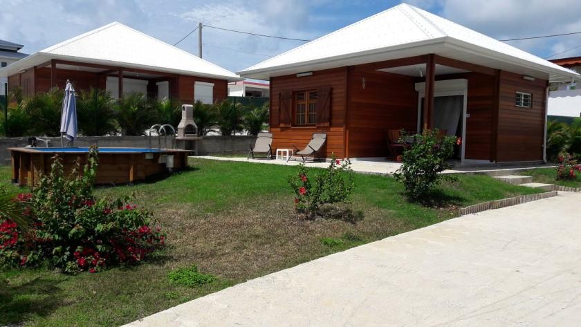 Propriété composée de 3 villas créoles