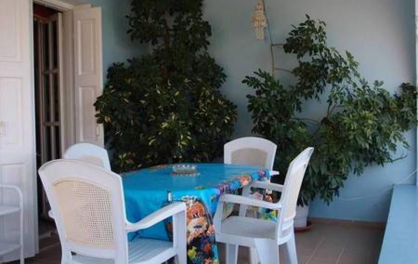 Location de vacances - Appartement à Vlichadia