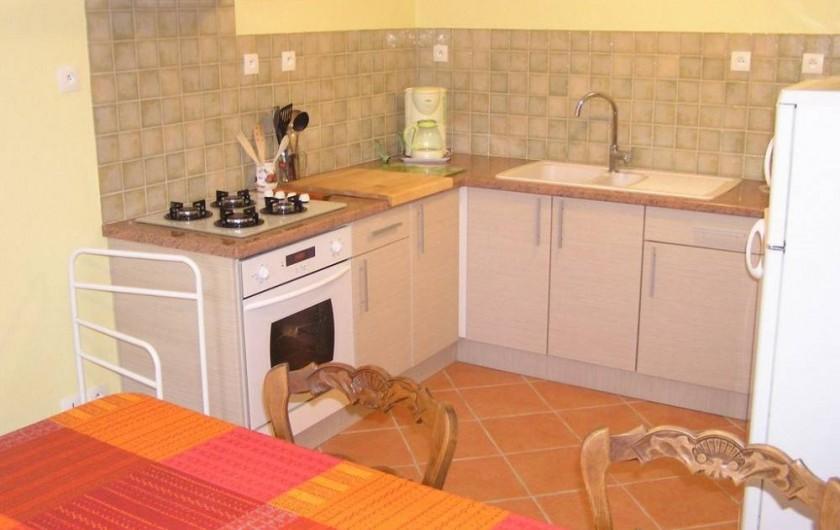 Location de vacances - Maison - Villa à Roscoff - Coin cuisineCoin repas