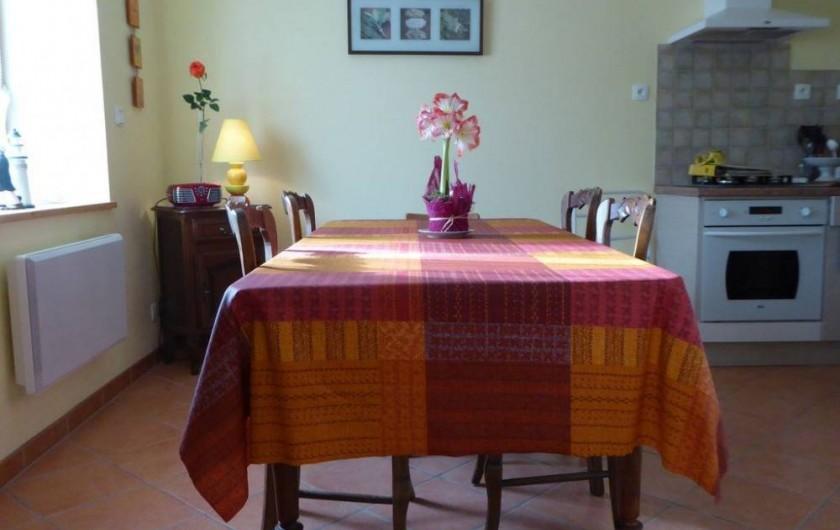 Location de vacances - Maison - Villa à Roscoff - Espace repas
