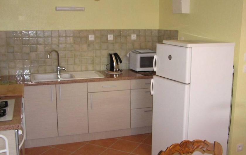 Location de vacances - Maison - Villa à Roscoff - Coin cuisine amménagée