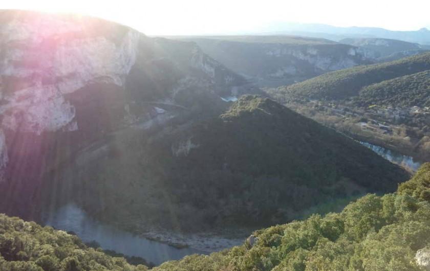 Location de vacances - Villa à Aubenas - Les gorges de l'Ardèche
