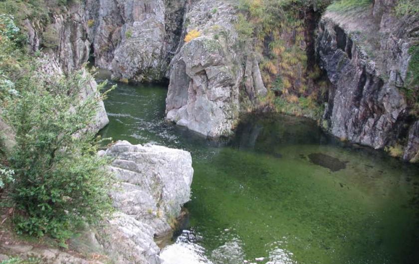 Location de vacances - Villa à Aubenas - Paysage d'Ardèche