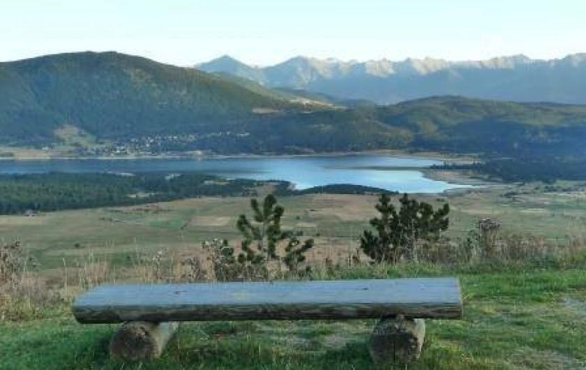 Location de vacances - Appartement à Les Angles - Vue sur le Lac de Matemale