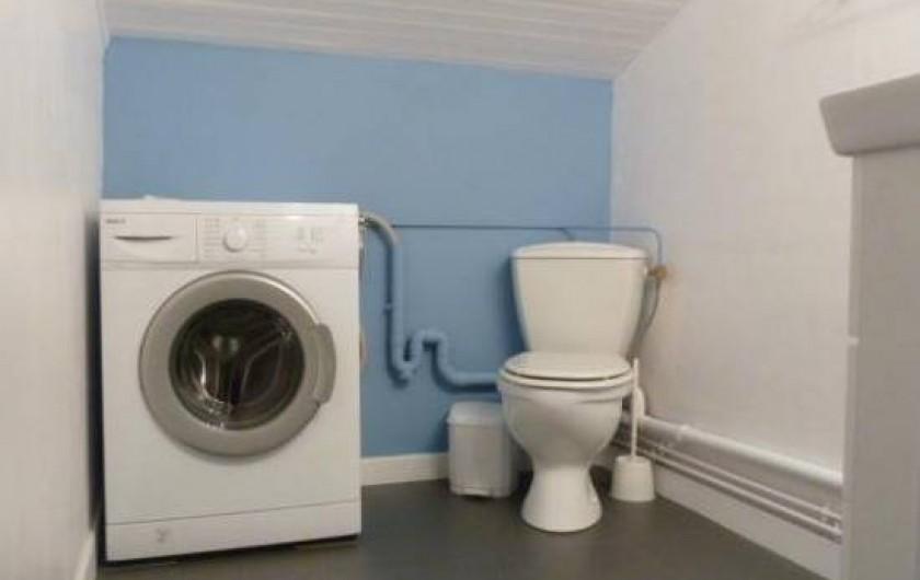 Location de vacances - Appartement à Les Angles - Cabinet de toilette